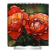 Nothing Sweeter Than A Rose Shower Curtain