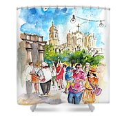 Noto 06 Shower Curtain