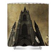 Notre Dame Basilica Shower Curtain