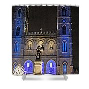 Notre-dame Basilica Of Montreal Shower Curtain