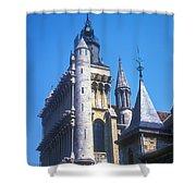 Notre Dame De Dijon Shower Curtain
