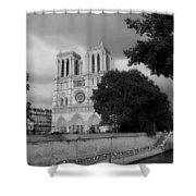 Notre Dame De Paris 2b Shower Curtain