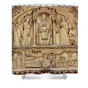 Notre Dame Detail Shower Curtain