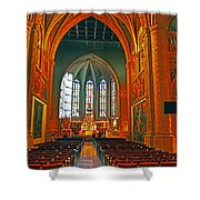 Notre Dame Of Luxembourg Shower Curtain