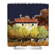 Notte In Campagna Shower Curtain