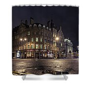 The Somerset House Shower Curtain