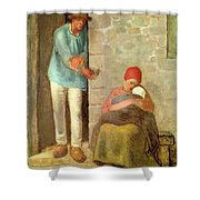 Nourishment, 1858 Shower Curtain