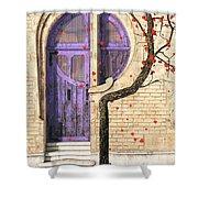 Nouveau Shower Curtain by Cynthia Decker