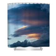 November Clouds 001 Shower Curtain