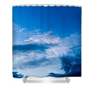 November Clouds 002 Shower Curtain