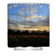 November Skies  Shower Curtain
