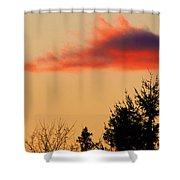 November Sunset IIi Shower Curtain