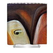 Novice And Sage Shower Curtain