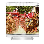 Now Thats A Pickup Man Shower Curtain