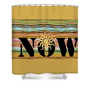 Now Wavy Shower Curtain