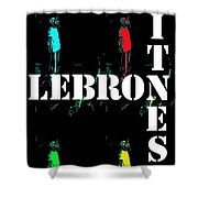 Now Witness Lebron James Shower Curtain