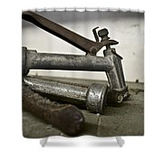 Nozzle Picking Shower Curtain
