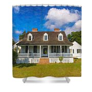 Nps Historic Site Shower Curtain