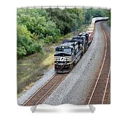 Ns 9629 Lead Intermodal Shower Curtain