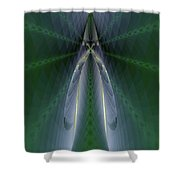 Nu N Sect Shower Curtain