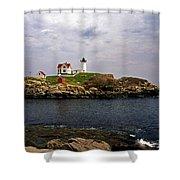 Nuble Lighthouse Shower Curtain