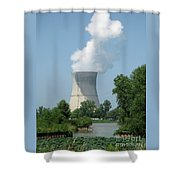 Nuclear Energy And Environment Shower Curtain