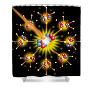 Nuclear Fission Shower Curtain