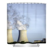 Nuclear Hdr3 Shower Curtain