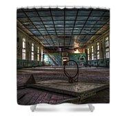 Nuclear Sport Shower Curtain
