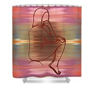 Nude 12 Shower Curtain by Patrick J Murphy