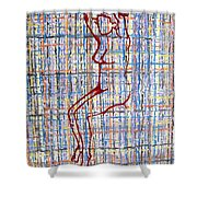 Nude 15 Shower Curtain by Patrick J Murphy