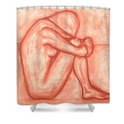 Nude 8 Shower Curtain by Patrick J Murphy