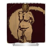 Nude Acting Shower Curtain