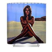 Nude Beach Beauty Shower Curtain