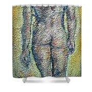 Nude Brunet Shower Curtain