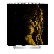 Nude - Chiaroscuro Shower Curtain