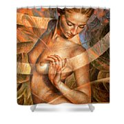 Nude Girl7 Shower Curtain