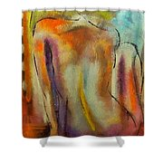 Nude IIi Shower Curtain