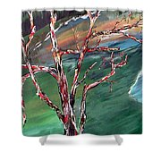 Nude In Nature Shower Curtain