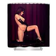 Nude Stage Beauty Shower Curtain