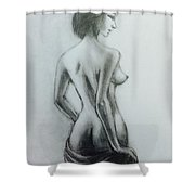 Nude Study 24 Shower Curtain