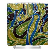 Nude3 Shower Curtain