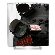 Number 29 Shower Curtain
