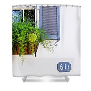 Number 61 And A Quarter - Charleston S C - Travel Photographer David Perry Lawrence Shower Curtain