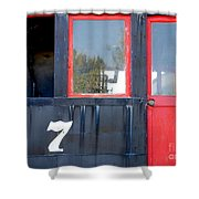 Number 7 Shower Curtain