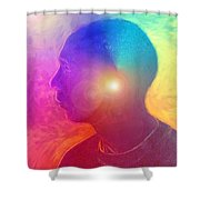 Number Fifty Four Shower Curtain