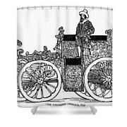 Nuremberg Carriage, 1649 Shower Curtain