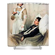 Nurse: Calendar, 1899 Shower Curtain