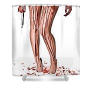 Nurse Help Shower Curtain