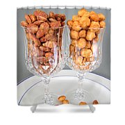 Nutty For Nuts Shower Curtain